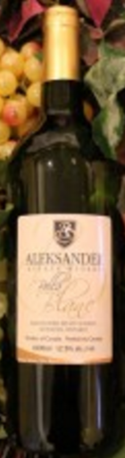Aleksander Estate Winery Bella Blanc