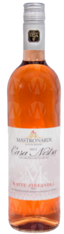 Mastronardi Estate Winery Casa Nostra Series White Zinfandel