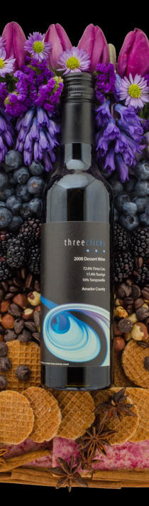 Three Clicks Wines Dessert Wine Bottle Preview