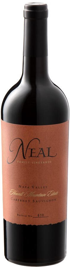Neal Family Vineyards Howell Mountain Estate Cabernet Sauvignon Bottle Preview