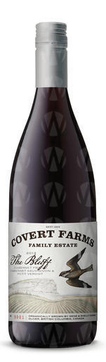 Covert Farms Family Estate Winery Bluff
