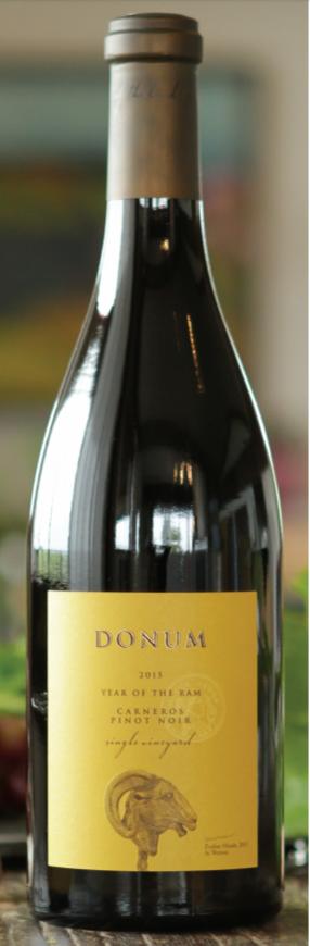 Donum Estate Carneros Estate Pinot Noir Bottle Preview