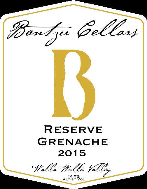 Bontzu Cellars Reserve Grenache Bottle Preview