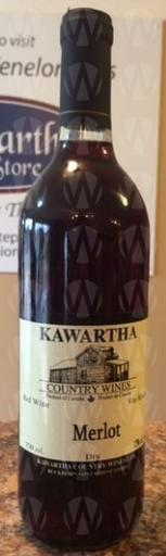 Kawartha Country Wines Merlot Dry