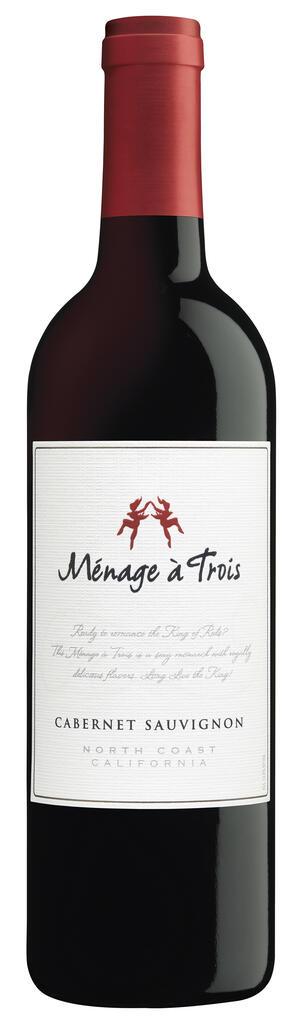 Ménage à Trois Wines Ménage à Trois Cabernet Sauvignon Bottle Preview