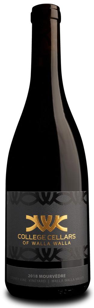 College Cellars of Walla Walla Mourvèdre, Stoney Vine Vineyard Bottle Preview