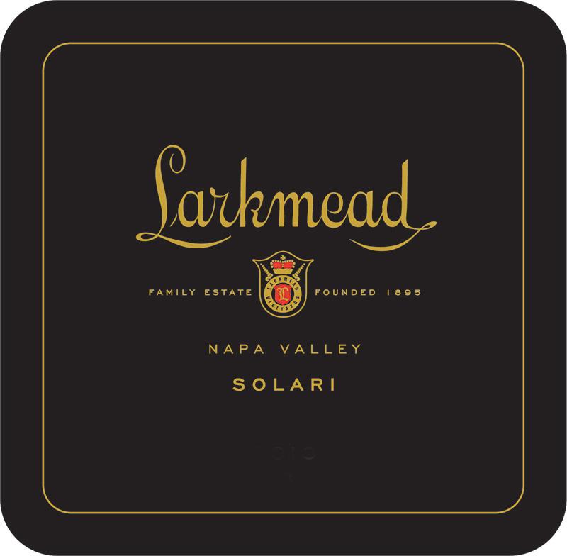 Larkmead Vineyards Solari Bottle Preview