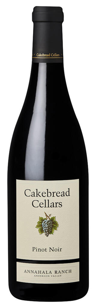 Cakebread Cellars Pinot Noir Annahala Ranch Anderson Valley Bottle Preview
