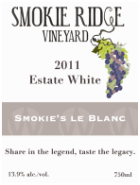 Smokie Ridge Vineyard Smokie's le Blanc
