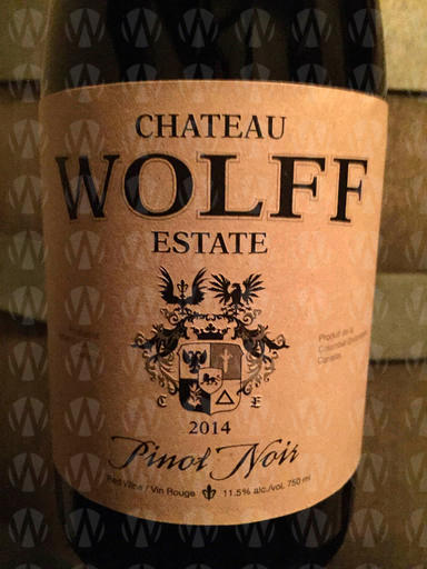Chateau Wolff Estate Pinot Noir