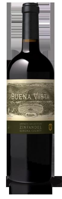 Buena Vista Winery Arpad's Selection Zinfandel Bottle Preview
