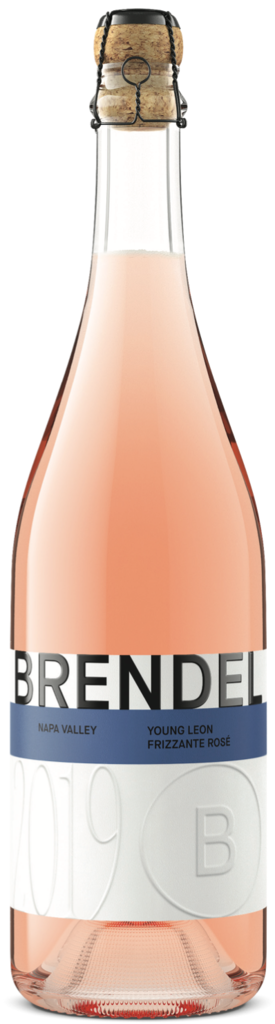 Brendel Wines Young Leon Frizzante Rosé Bottle Preview