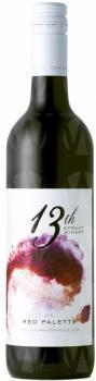 13th Street Winery Red Palette