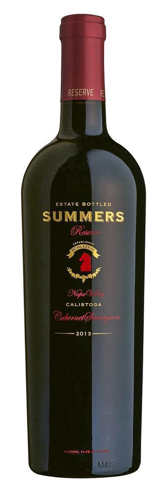 Calistoga Napa Valley Reserve Cabernet Sauvignon Bottle