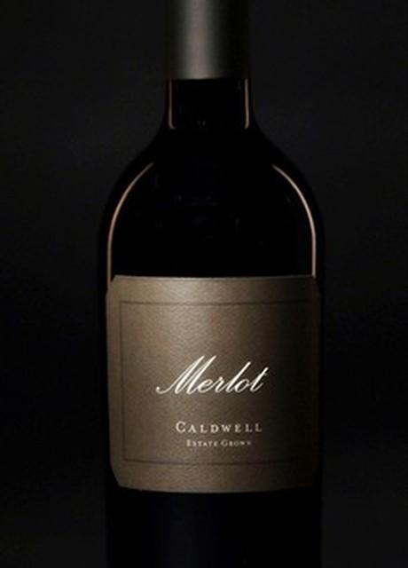 Caldwell Vineyard Merlot Bottle Preview