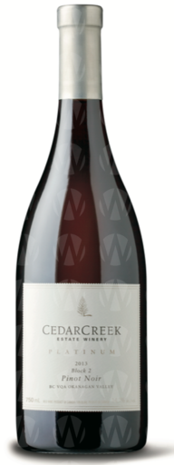 CedarCreek Estate Winery Platinum Block 2 Pinot Noir