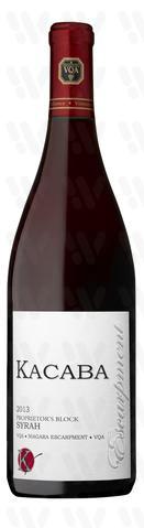 Kacaba Vineyards and Winery Proprietors Block Syrah