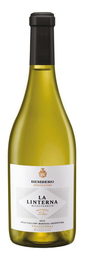 La Linterna Chardonnay Finca El Tomillo, Plot #1 Gualtallary Bottle
