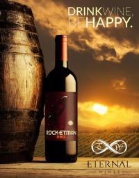 Eternal Wines & Drink Washington State Rocket Man Red Bottle Preview