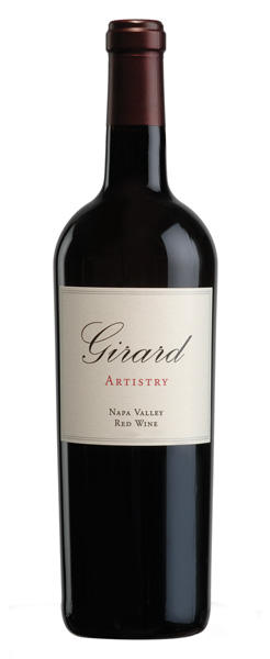 Girard Winery Artistry Napa Valley Bottle Preview
