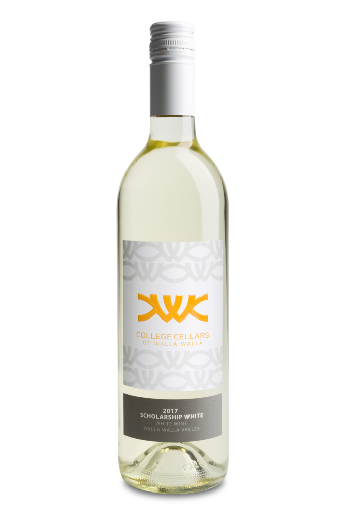 College Cellars of Walla Walla Scholarship White Bottle Preview