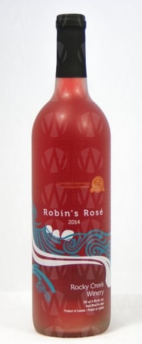 Rocky Creek Winery Robin's Rose