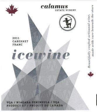 Calamus Estate Winery Cabernet Franc Icewine