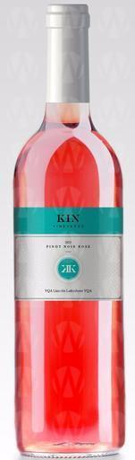 KIN Vineyards Pinot Noir Rose