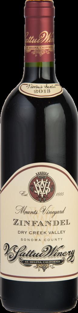 Mounts Vineyard Zinfandel Bottle