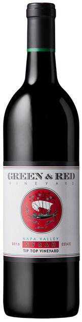 "Green & Red Vineyard Syrah ""Tip Top Vineyard"" Estate Grown & Bottled Bottle Preview"