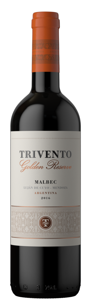 Trivento Golden Reserve Malbec Bottle