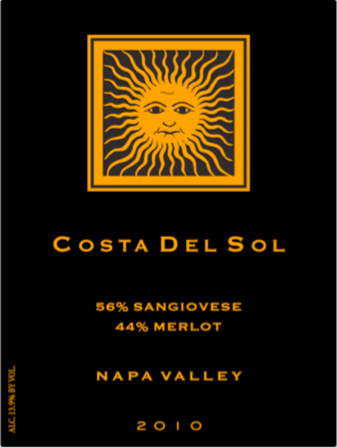 Sleeping Giant Costa Del Sol Red Table Wine Bottle Preview