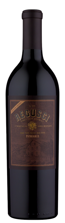 Regusci Winery Patriarch Red Wine Bottle Preview