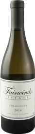 Fairwinds Estate Winery Chardonnay, Napa Valley Bottle Preview