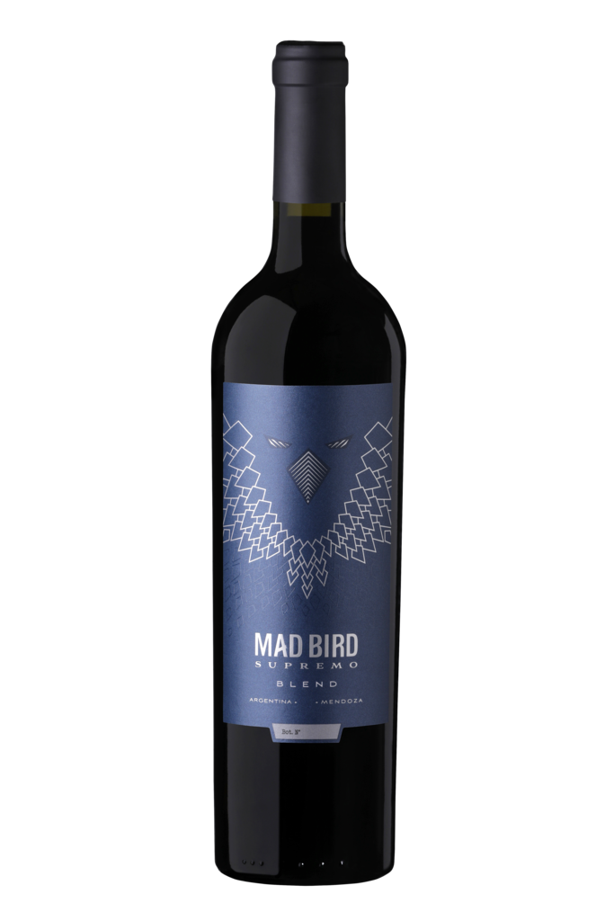 Corbeau Wines MAD BIRD SUPREMO Bottle Preview