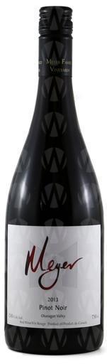 Meyer Family Vineyards Okanagan Valley Pinot Noir