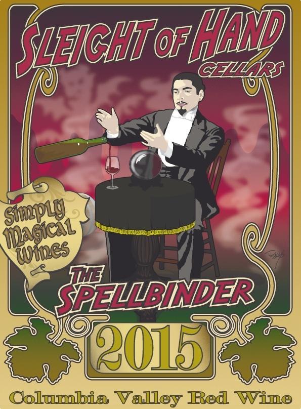 Sleight of Hand Cellars The Spellbinder Bottle Preview