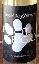 Three Dog Winery Pinot Grigio