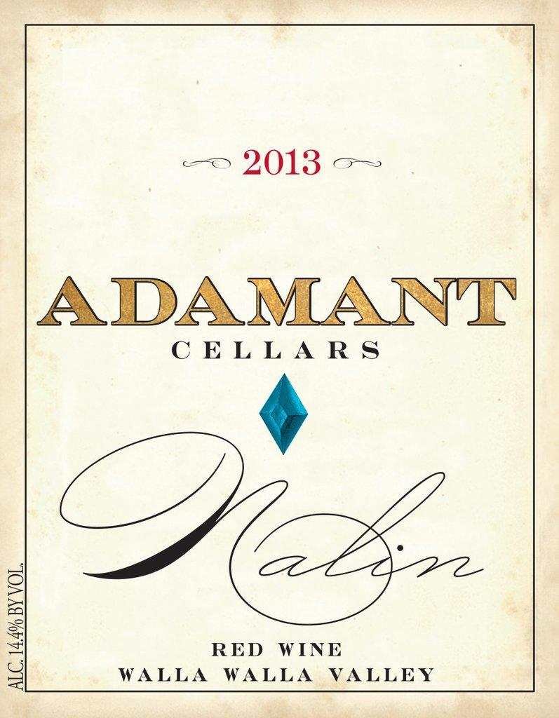 Adamant Cellars Nalin Bottle Preview