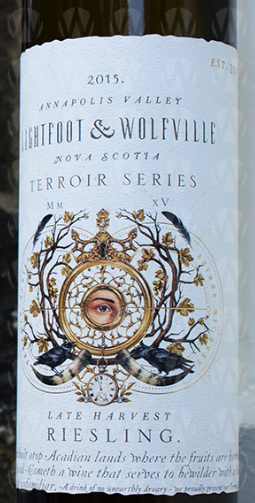 Lightfoot  & Wolfville Vineyards Late Harvest Riesling