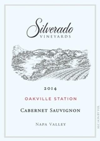 Silverado Vineyards Cabernet Sauvignon Oakville Station Bottle Preview