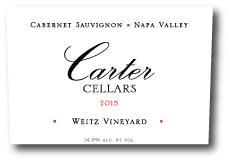 Weitz Vineyard Cabernet Sauvignon Bottle