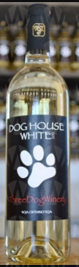 Three Dog Winery Dog House White