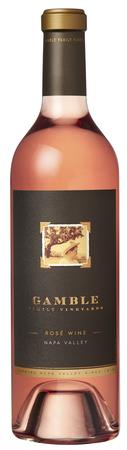 Gamble Family Vineyards Rosé Wine Bottle Preview