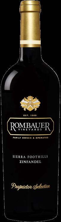 Rombauer Vineyards Proprietor Selection Zinfandel Bottle Preview