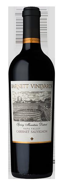 Barnett Vineyards Cabernet Sauvignon, Spring Mountain District Bottle Preview