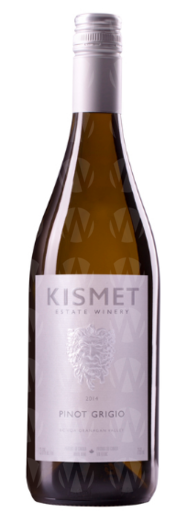 Kismet Estate Winery Pinot Grigio