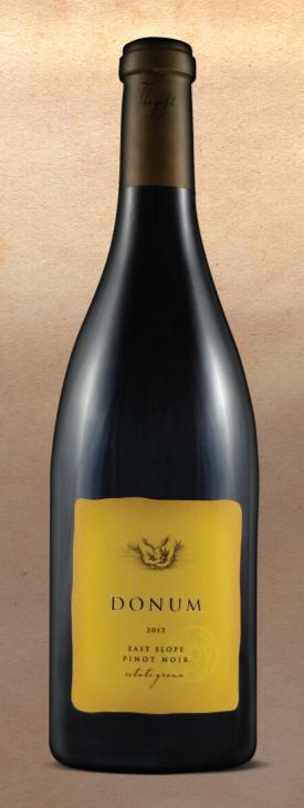 Donum Estate Carneros East Slope Pinot Noir Bottle Preview