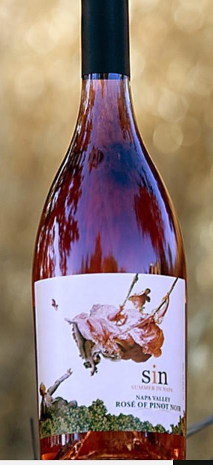 Trefethen Family Vineyards S.I.N. Rose Bottle Preview