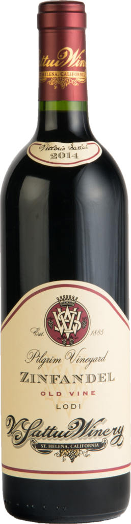 V. Sattui Winery Pilgrim Vineyard Zinfandel Bottle Preview